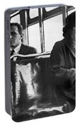 Rosa Parks On Bus Portable Battery Charger