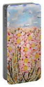 Rosa Ruby Flower Garden Portable Battery Charger