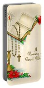 Rosary Good Wishes Portable Battery Charger