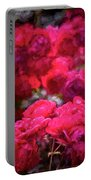 Rose 134 Portable Battery Charger by Pamela Cooper