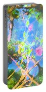Rose 182 Portable Battery Charger by Pamela Cooper