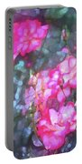 Rose 188 Portable Battery Charger by Pamela Cooper