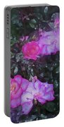 Rose 189 Portable Battery Charger by Pamela Cooper