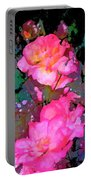 Rose 193 Portable Battery Charger by Pamela Cooper