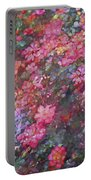 Rose 199 Portable Battery Charger by Pamela Cooper
