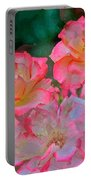 Rose 203 Portable Battery Charger by Pamela Cooper