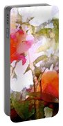 Rose 204 Portable Battery Charger by Pamela Cooper