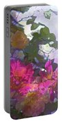 Rose 206 Portable Battery Charger by Pamela Cooper