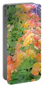 Rose 214 Portable Battery Charger by Pamela Cooper