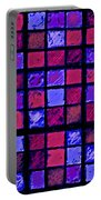 Rose And Purple Sudoku Portable Battery Charger