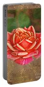 Rose Blank Greeting Card Portable Battery Charger