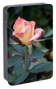 Pink Rose Bloom  Portable Battery Charger