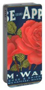 Rose Brad Apples Crate Label Portable Battery Charger