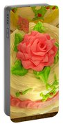 Rose Cakes Portable Battery Charger