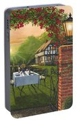 Rose Cottage - Dinner For Two Portable Battery Charger