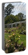 Rose Garden At The Huntington Library Portable Battery Charger