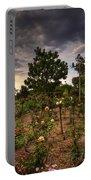Rose Garden Portable Battery Charger