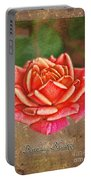 Rose Greeting Card Birthday Portable Battery Charger