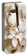 Rose Leaf Photoart Portable Battery Charger