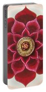 Rose Mandala Portable Battery Charger