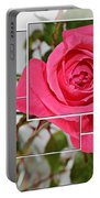 Rose Montage Portable Battery Charger