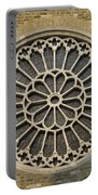 Rose Of The Cathedral Of San Giusto Portable Battery Charger