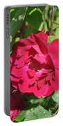 Rose On The Vine Portable Battery Charger