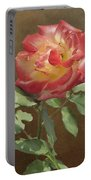 Rose On Thornridge Road Portable Battery Charger