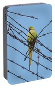 Rose-ringed Parakeet Portable Battery Charger