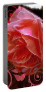 Rose Rose And Rose Portable Battery Charger
