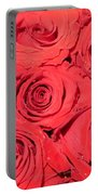 Rose Swirls Portable Battery Charger