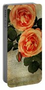 Rose Tinted Memories Portable Battery Charger