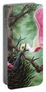 Roseate Spoonbill Nesters  Portable Battery Charger