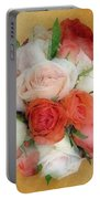 Roses Antiqua Portable Battery Charger