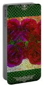 Roses- Featured In Beautiful Roses And Comfortable Art Groups Portable Battery Charger