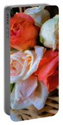 Roses Florentine Portable Battery Charger