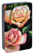 Roses I Portable Battery Charger