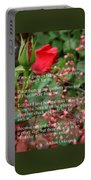 Roses In Heaven Portable Battery Charger