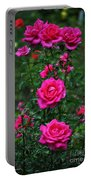 Roses In The Garden Portable Battery Charger