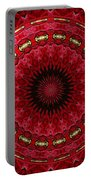 Roses Kaleidoscope Under Glass 12 Portable Battery Charger