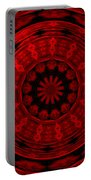 Roses Kaleidoscope Under Glass 22 Portable Battery Charger