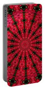 Roses Kaleidoscope Under Glass 24 Portable Battery Charger