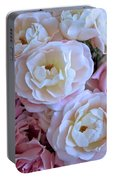 Roses On The Veranda Portable Battery Charger