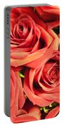 Roses On Your Wall Portable Battery Charger