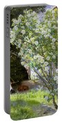 Roses Portable Battery Charger by Peder Severin Kroyer