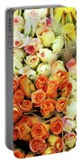 Roses 01 Portable Battery Charger