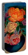 Roses Roses Roses Portable Battery Charger