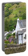 Rosthwaite In The Valley Of Borrowdale Lake District Portable Battery Charger