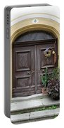 Rothenburg Ob Der Tauber Door  Portable Battery Charger