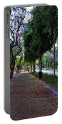 Rothschild Boulevard Portable Battery Charger by Ron Shoshani